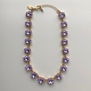 Lavender Charming Charlie Collar Necklace
